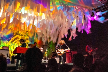 Temples w/ Mad Alchemy Liquid Light Show. Photo: Grace Dunn.